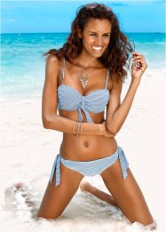 Beugelbikini (2-dlg. set), bpc bonprix collection, donkerblauw/wit gestreept