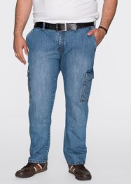 Cargojeans regular fit straight, John Baner JEANSWEAR, middenblauw