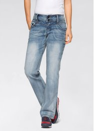 Stretchjeans WIDE, John Baner JEANSWEAR, lichtblauw