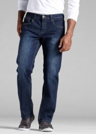 Stretchjeans Regular fit, John Baner JEANSWEAR, donkerblauw