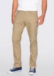 Broek slim fit straight, RAINBOW, beige