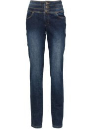 Corrigerende stretchjeans skinny, John Baner JEANSWEAR, donkerblauw