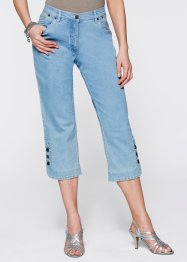 3/4-Stretchjeans, bpc selection, blue stone
