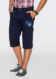 Longbermuda regular fit, bpc bonprix collection, donkerblauw