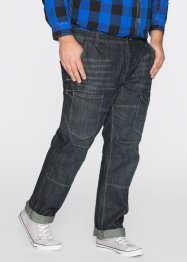 Jeans regular fit straight, RAINBOW, antraciet denim