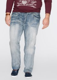 Jeans regular fit straight, John Baner JEANSWEAR, blauw used