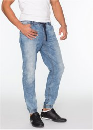 Jeans slim fit straight, RAINBOW, blauw