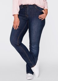 Stretchjeans «recht», bpc bonprix collection, dark denim