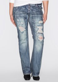 Jeans bootcut, RAINBOW, blue stone new