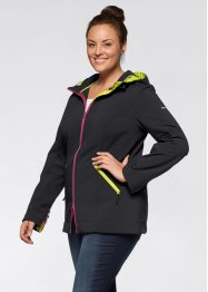 Softshell, bpc bonprix collection, zwart