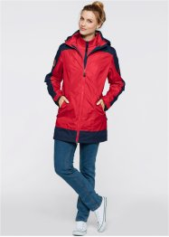 3in1-outdoorjas, bpc bonprix collection, donkerblauw/mat mosgroen