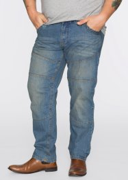 Jeans regular fit straight, John Baner JEANSWEAR, middenblauw used
