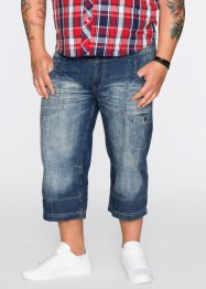 3/4-jeans straight, John Baner JEANSWEAR, blauw used