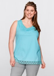 Top, bpc bonprix collection, rood