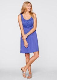 Jurk, bpc bonprix collection, paarsblauw