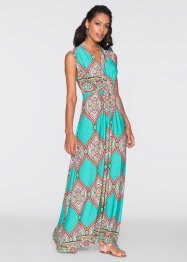 Maxi-jurk, BODYFLIRT boutique, turkoois