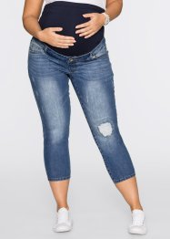 7/8-zwangerschapsjeans, bpc bonprix collection, blue stone used
