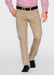 5-pocket-broek regular fit straight, bpc bonprix collection, beige