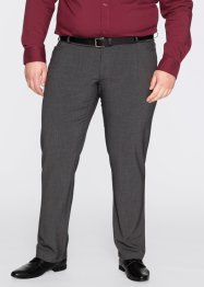 Broek regular fit straight, bpc selection, antraciet gemêleerd