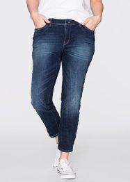 7/8-stretchjeans SLIM, John Baner JEANSWEAR, donkerblauw