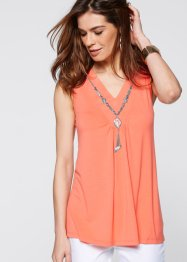 Top+ketting, bpc selection, zalmkleur