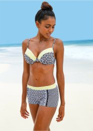 Zwemshort, bpc bonprix collection, zwart/wit gedessineerd