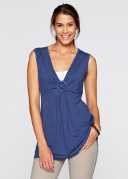 2in1-top, bpc bonprix collection, indigo