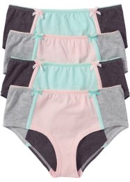 Tailleslip (set van 4), bpc bonprix collection, multicolor