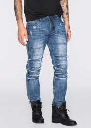 Jeans regular fit straight, RAINBOW, blauw