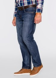 Jeans loose fit straight, John Baner JEANSWEAR, donkerblauw