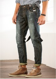 Jeans regular fit tapered, RAINBOW, dirty denim