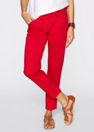 7/8-broek, bpc bonprix collection, aardbeirood