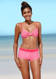Bikinibovenstukje, bpc bonprix collection, rood/wit