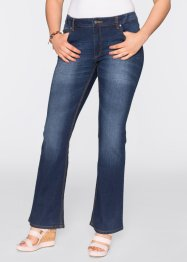 Stretchjeans flared, BODYFLIRT, dark denim