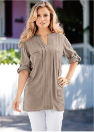 Blouse, bpc selection, taupe