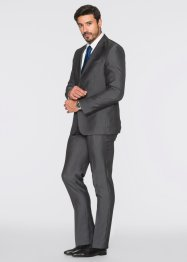 Kostuum slim fit, bpc selection, grijs gestreept