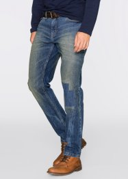 Stretchjeans regular fit tapered, John Baner JEANSWEAR, blauw
