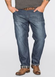 Thermojeans regular fit straight, John Baner JEANSWEAR, donkerblauw
