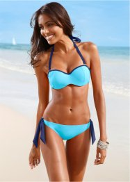 Beugelbikini (2-dlg. set), bpc bonprix collection, turkoois/blauw