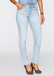Stretchjeans «SKINNY», John Baner JEANSWEAR, lightblue bleached used