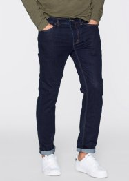 Stretchjeans slim fit straight, RAINBOW, donkerblauw