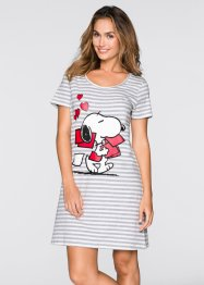 Nachthemd «Snoopy», bpc bonprix collection, gestreept