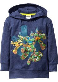 Shirt «Turtles», Teenage Mutant Ninja Turtles, donkerblauw gemêleerd «Turtles»