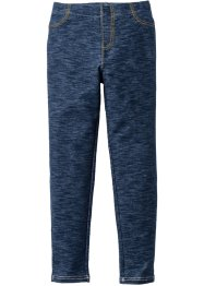 Legging, bpc bonprix collection, donkerblauw gemêleerd