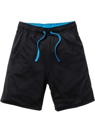 Functionele sportbroek, bpc bonprix collection, zwart/capriblauw