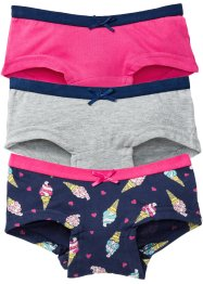 Tailleslip (set van 3), bpc bonprix collection, multicolor ijs