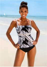 Tankini (2-dlg. set), bpc selection, zwart/wit