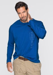 Longsleeve, bpc bonprix collection, azuurblauw