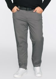 Broek slim fit straight, RAINBOW, rookgrijs