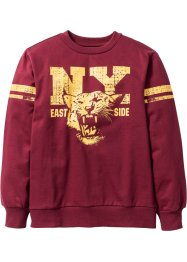 Sweatshirt, bpc bonprix collection, bordeaux
